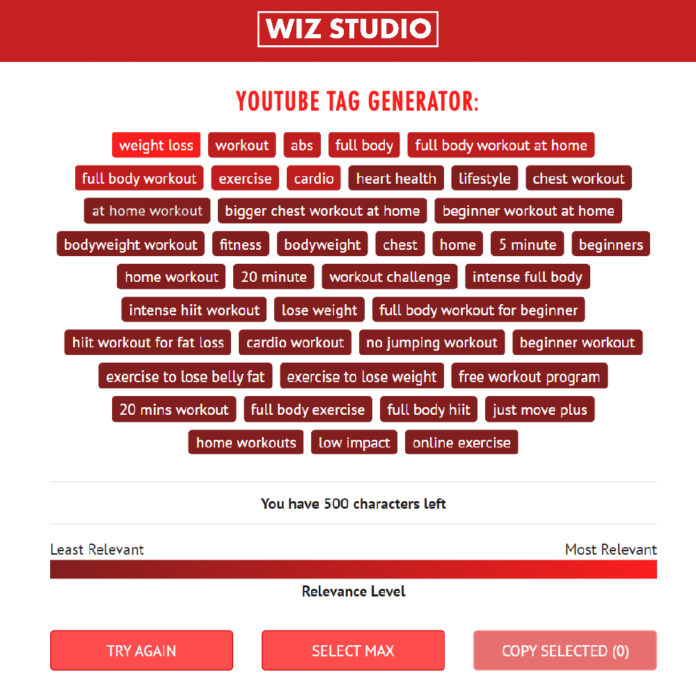 WizStudio Tag Generator: How Free YouTube Keyword Tool Crossed 5 000 Requests a Day
